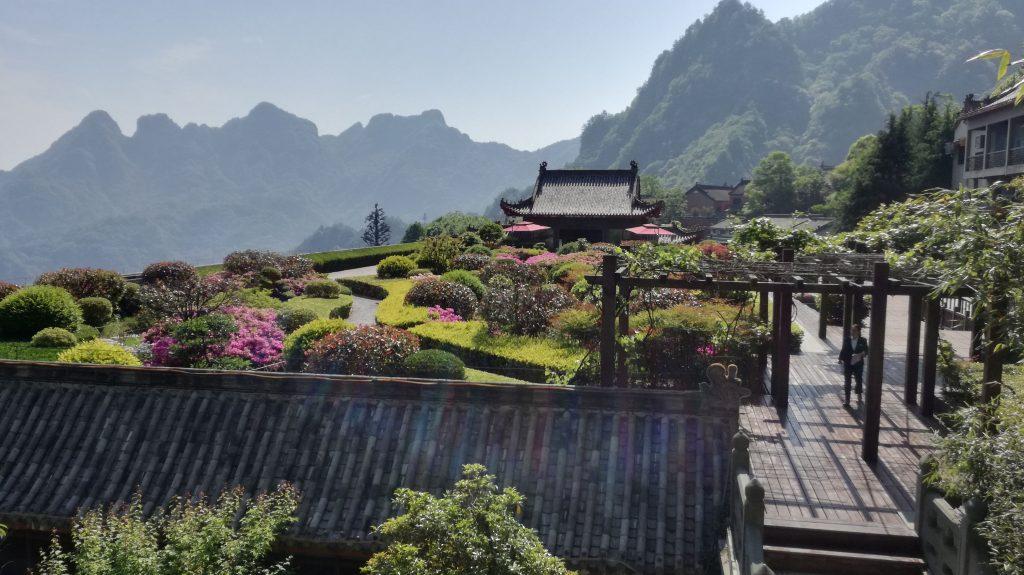 montagne du mont wudang